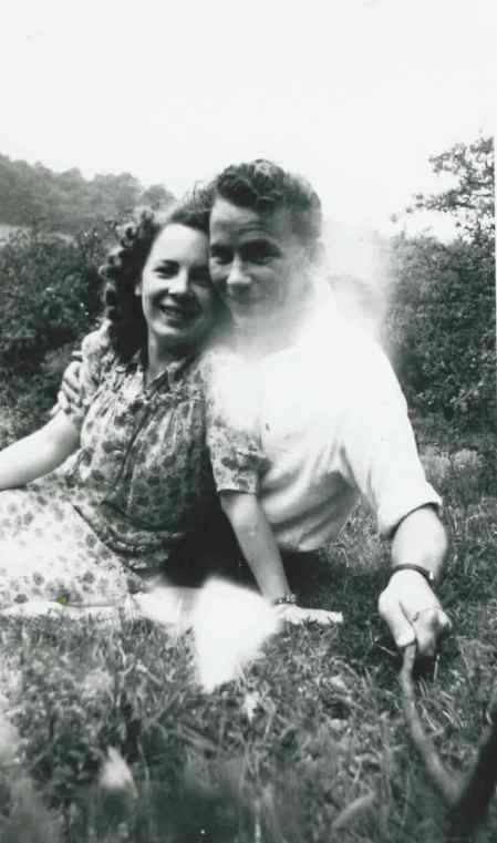 A newly-aquired photo of my grandparents, Pamela Jones and Royston Sell